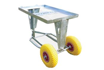 Tray wheelbarrow